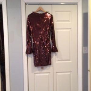 Michael Kors Sequin cordovan dress